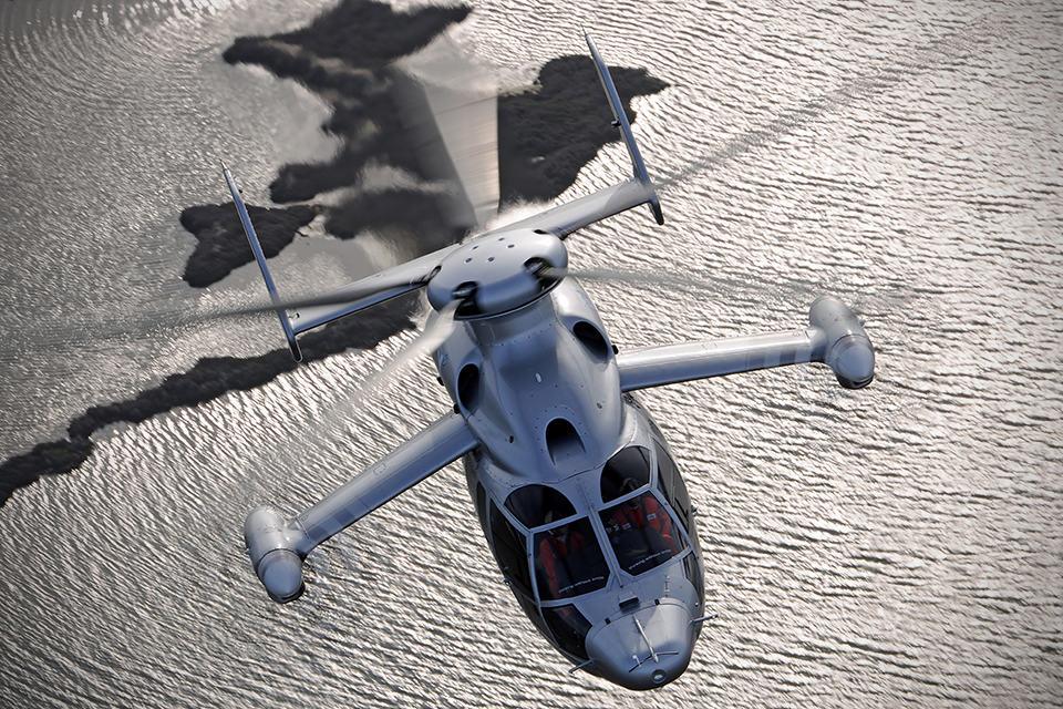 Eurocopter X3 Hybrid Helicopter breaks 300MPH