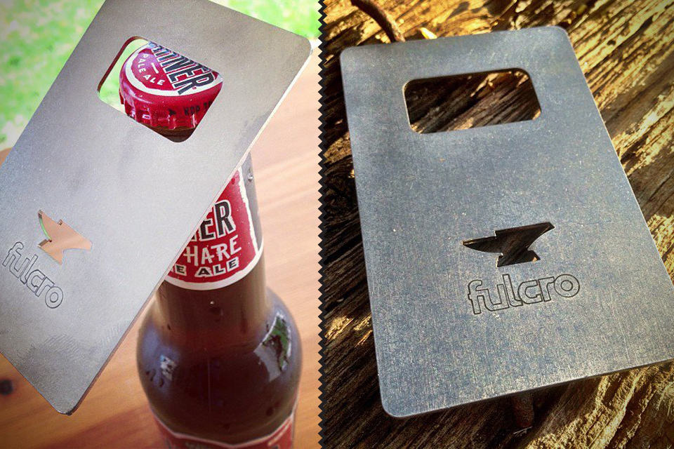 Fulcro - A Sleek, Minimalist Bottle Opener