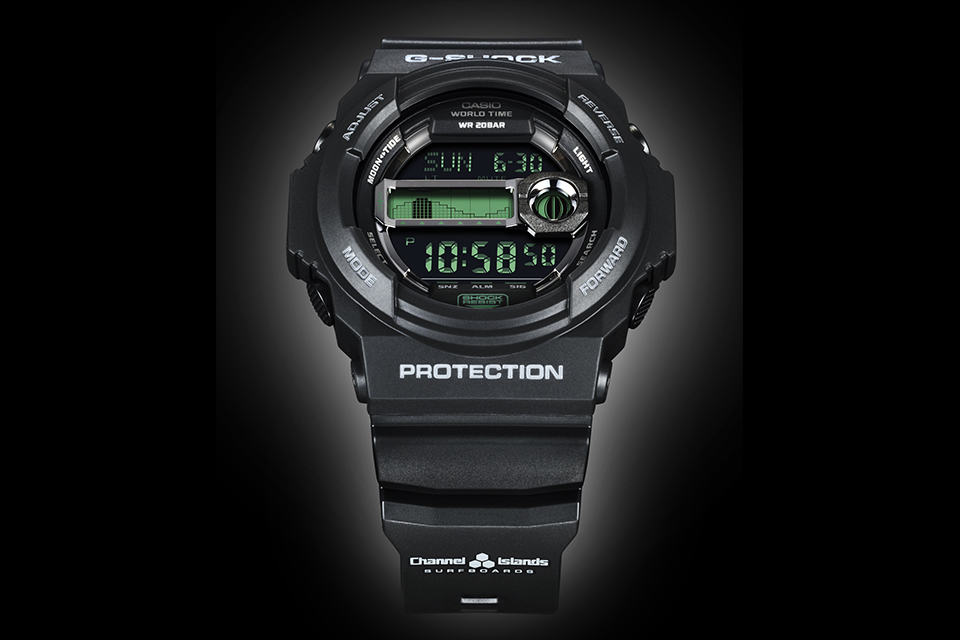 G-SHOCK x Channel Islands GLX150CI-1 Surf Watch
