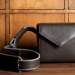 Hard Graft Frame1 Leather SLR Camera Bag / Smoke