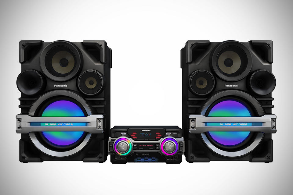 Panasonic SC-MAX650 Extra-Large Audio System