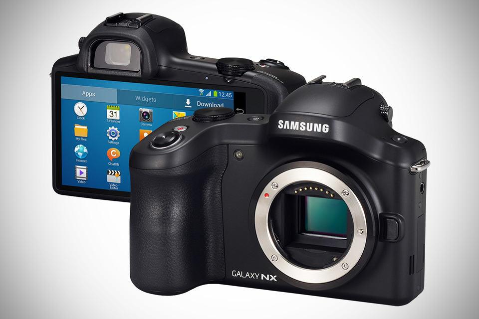 Samsung GALAXY NX 3G/4G LTE Android Camera
