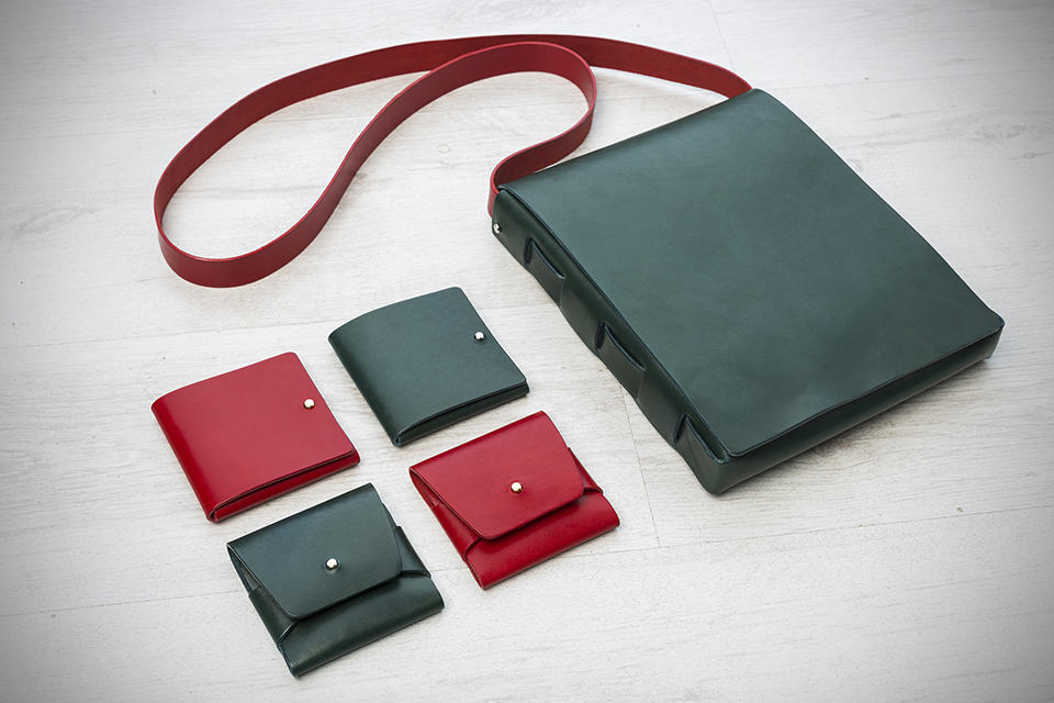 Stitch-less Leather Bags and Wallets by Clean Everything