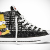 The Simpsons Chuck Taylor All Star Bart Right