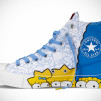 The Simpsons Chuck Taylor All Star Family Left