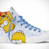 The Simpsons Chuck Taylor All Star Family Right