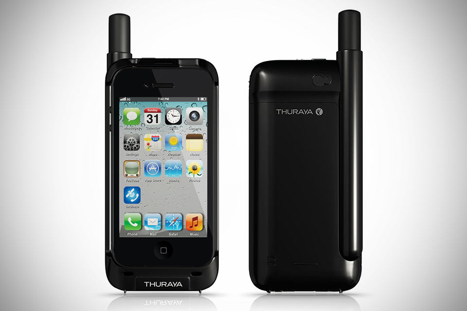 Thuraya SatSleeve Satellite Adaptor for iPhone