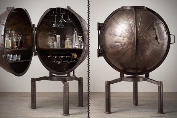 1920s German Light Bulb Voltage Tester Wine Bar