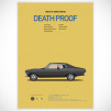 Cars and Films Prints [Poster] - Death Proof