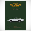 Cars and Films Prints [Poster] - Goldfinger
