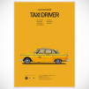 Cars and Films Prints [Poster] - Taxi Driver