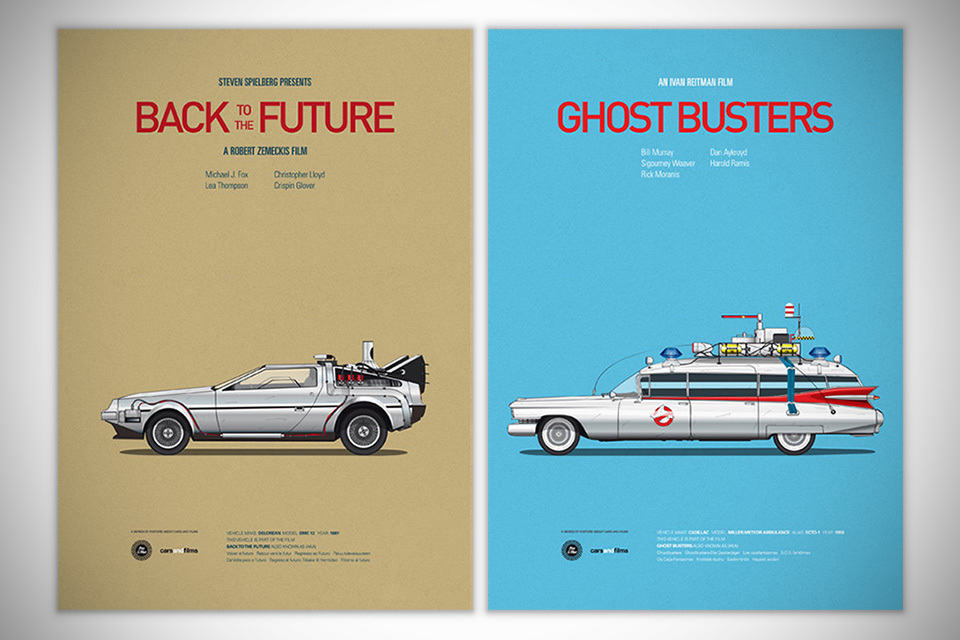 Cars and Films Prints [Poster]