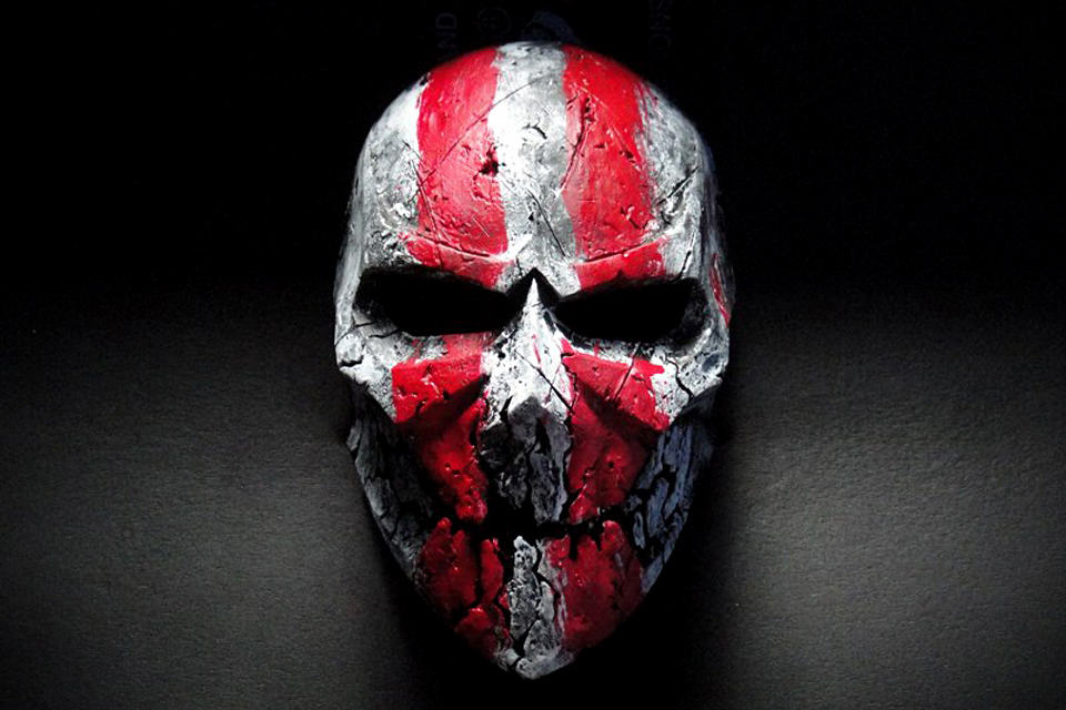 ColdBloodArt Paintball Masks