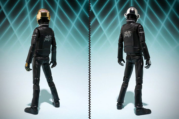 Daft Punk Action Figures - Back