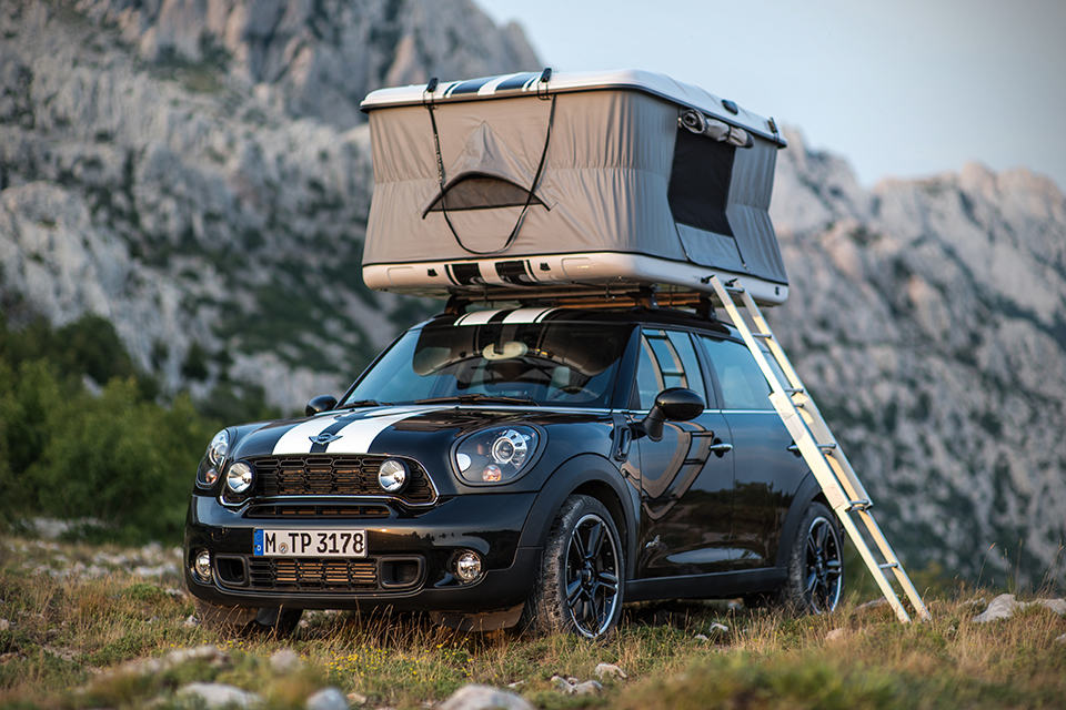 MINI Getaway Cars: Camper, Cowley and ALL4 Camp