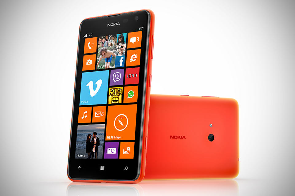Nokia Lumia 625 Windows Phone - Orange