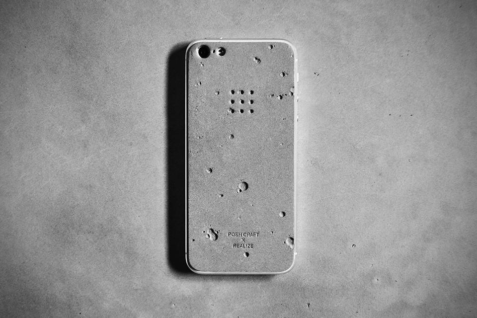 Posh Craft x Realize Luna Concrete Skin for iPhone 5