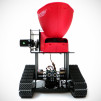 Seedbot - Seed Spreading Robot - Front View