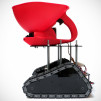 Seedbot - Seed Spreading Robot - Side profile
