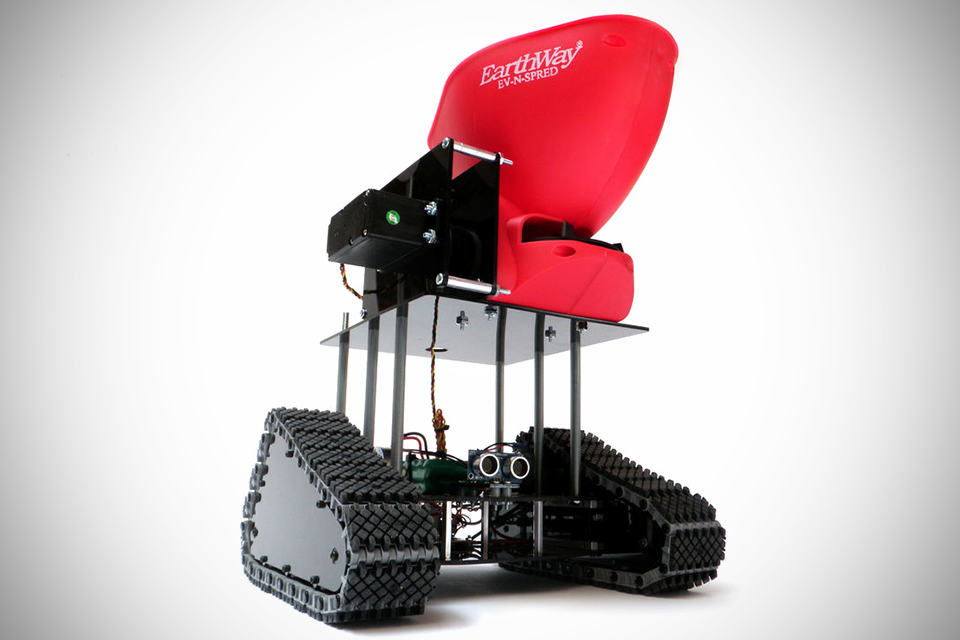 Seedbot - Seed Spreading Robot
