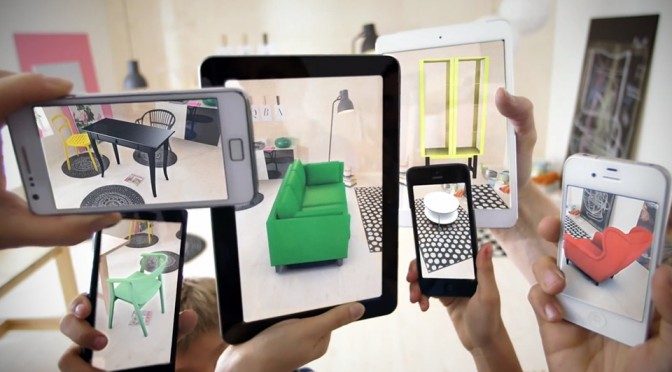 2014 Ikea Augmented Reality Catalog App