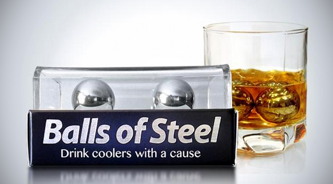 Balls of Steel Whiskey Drink Cooler