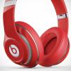 Beats by Dre Studio Headphones - Red Closeup