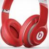Beats by Dre Studio Headphones - Red Closeup - Left