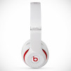 Beats by Dre Studio Headphones - White Side Profile
