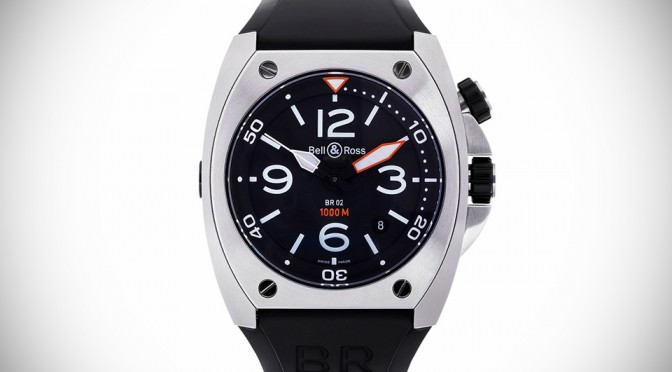 Bell & Ross BR02 Steel Diving Watch