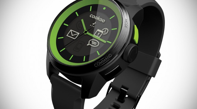COOKOO Analog Smartwatch - Limited Edition