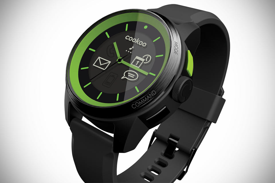 Cookoo Analog Smartwatch Mikeshouts