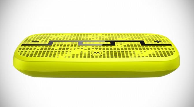 DECK Wireless Speaker by SOL REPUBLIC x Motorola - Lemon Lime