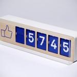 Fliike – Physical Facebook 'Like' Counter