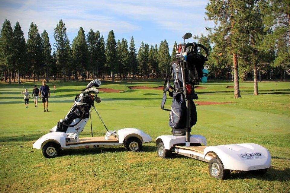 GolfBoard  Skateboard For Golfers  MIKESHOUTS