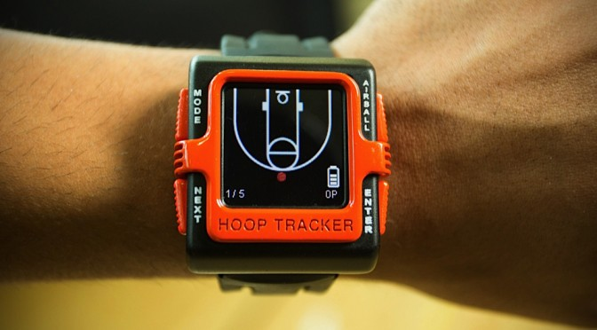 Hoop Tracker Basketball Smartwatch