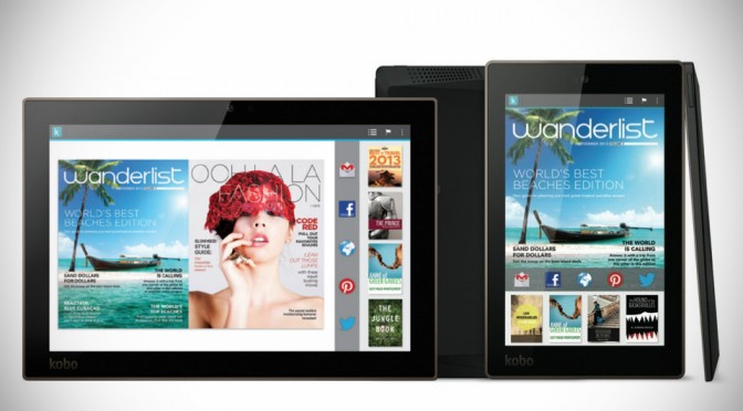 Kobo Arc 10HD, Arc 7HD and Arc 7 Tablets