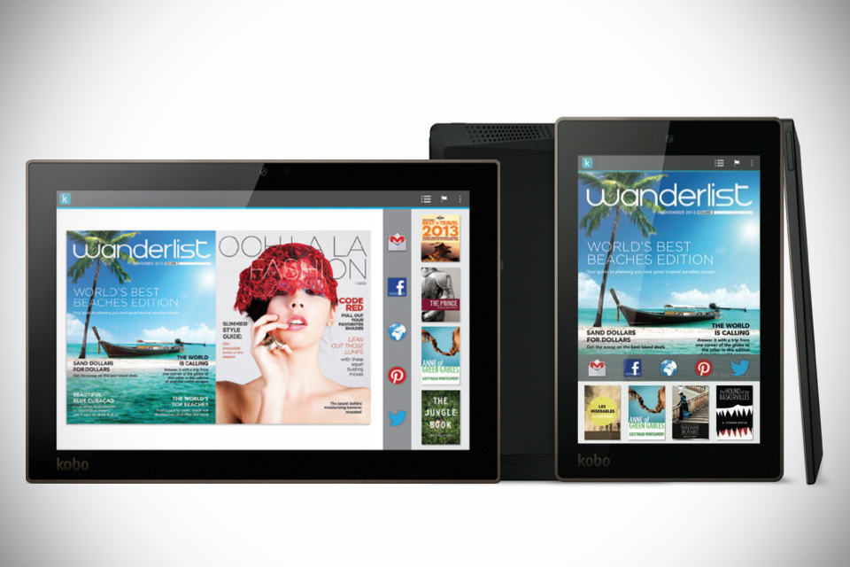 Kobo Arc 10HD, Arc 7HD and Arc 7 Tablets