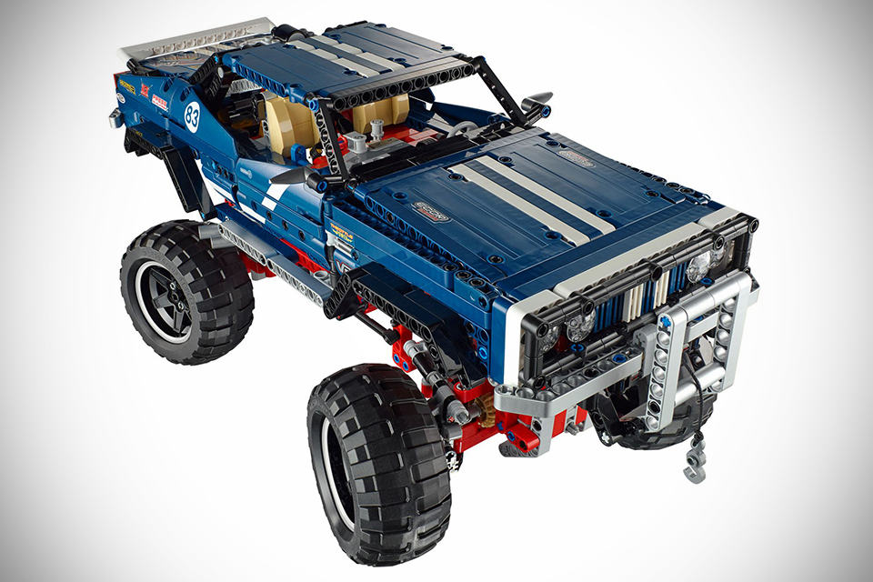 How to build a lego 4x4 truck used