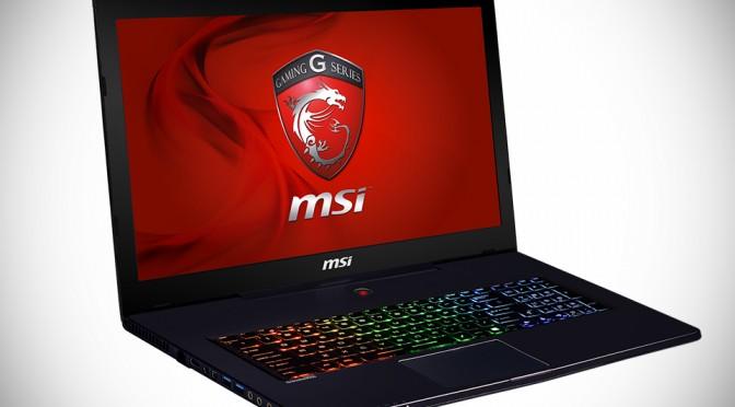 MSI GS70 17-inch Gaming Laptop