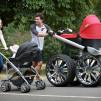 Skoda vRS Mega Man-Pram Baby Stroller