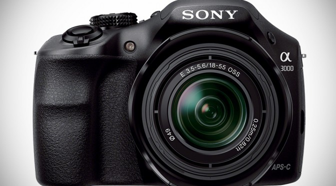 Sony a3000 DSLR-style Interchangeable Lens Camera