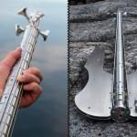 Stash Stainless Steel Bass Guitar