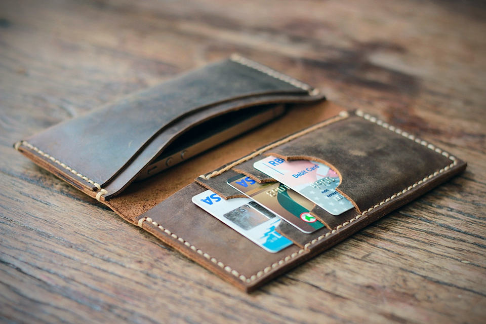 iPhone 5 Leather Wallet by JooJoobs