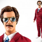 13″ Talking Anchorman Ron Burgundy Action Figure