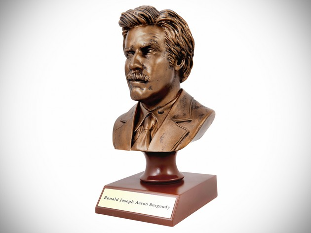 7-inch Anchorman Ron Burgundy Bust