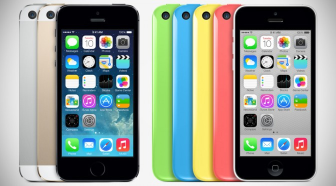 Apple iPhone 5s and 5c Smartphones