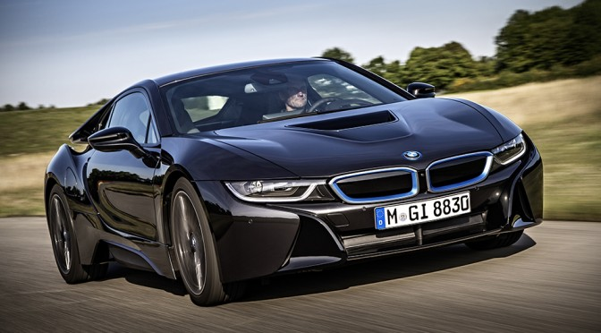 BMW i8 Plug-in Hybrid Coupe