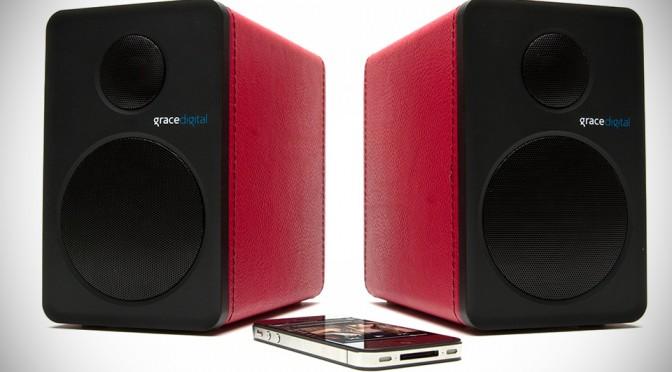 Grace Digital Bluetooth Bookshelf Speakers