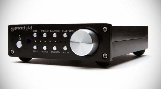 Grace Digital Bluetooth Integrated Amplifier